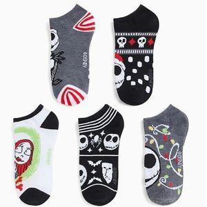 Torrid Nighmare Before Christmas Sweater Socks